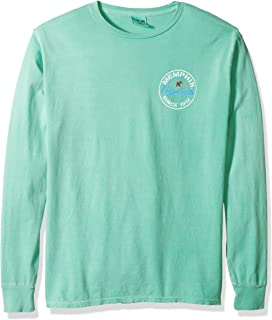 NCAA Memphis Tigers Adult NCAA Dyed Ringspun Fashion Color Longsleeve Tee,Large,Seafoam