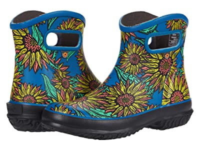 Bogs Patch Ankle Boot Sunflower (Navy Multi) Women