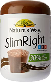 Nature's Way SlimRight Meal Replacement Shake - Chocolate, 375g