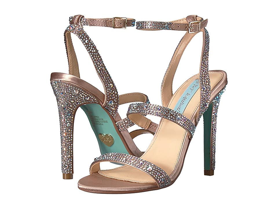 Blue by Betsey Johnson Aubry (Champagne) High Heels