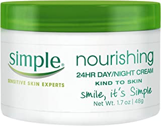Simple Kind to Skin Cream, Nourishing 24 Hr Day and Night 1.7 Fl Oz (Pack of 1)