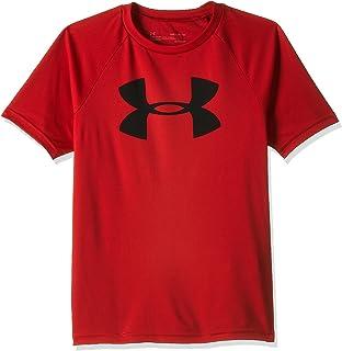 Under Armour Boys Tech Big Logo Short Sleeve Top
