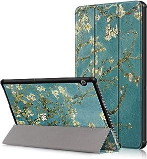 VOVIPO Huawei MediaPad T5 10 Funda Case Cover, Slim Smart PU Plegable Stand Cover Case Funda Protectora Carcasa para Huawe...