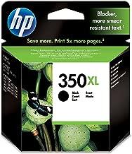 HP CB336EE 350XL Cartucho de Tinta Original de alto rendimiento, 1 unidad, negro