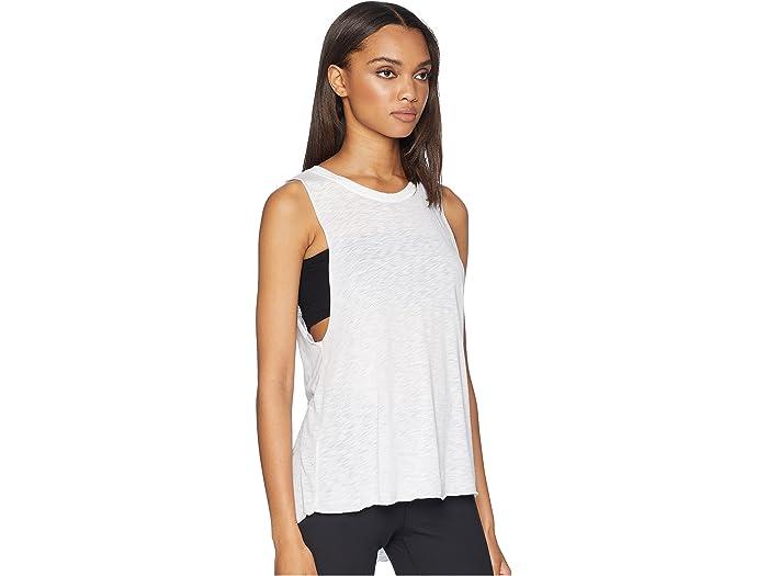Hard Tail Spin Tank Top White Shirts & Tops