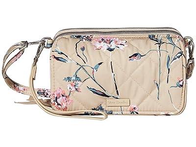 Vera Bradley Performance Twill RFID All-In-One Crossbody (Strawflowers) Handbags