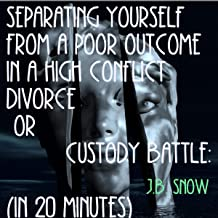 Separating Yourself from a Poor Outcome in a High Conflict Divorce or Custody Battle: (In 20 Minutes): Divorce Court, Book 8