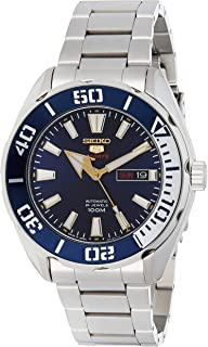 Seiko Hand Sport Silver Watch for Men, Analog - SRPC55J