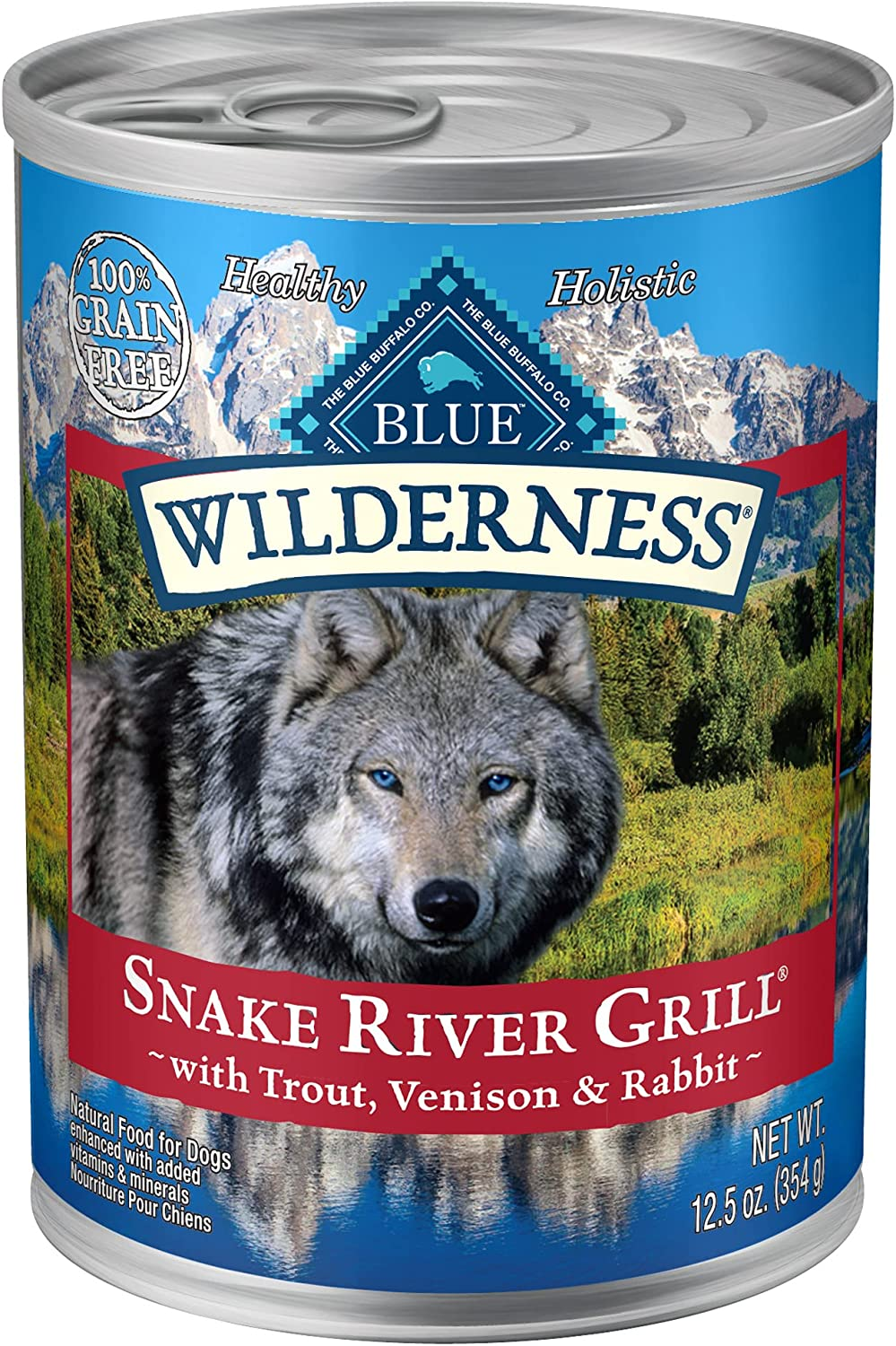 Blue Max 60% OFF Buffalo Wilderness Snake 1 year warranty River High Natural Protein Grill