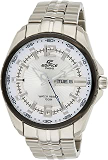 Casio Edifice Men's Silver Dial Stainless Steel Band Watch [EF-131D-7A]