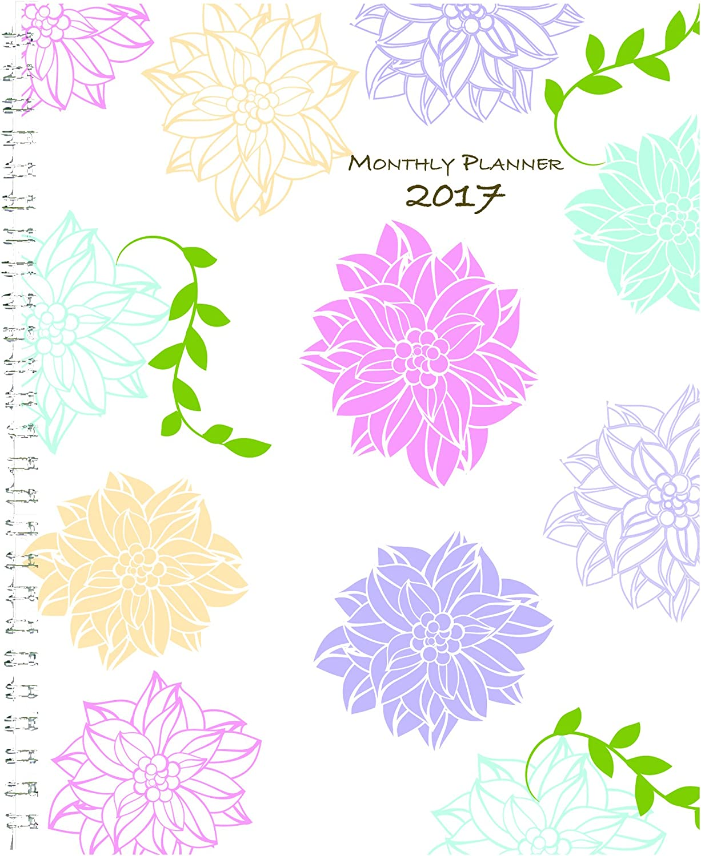 House of Doolittle 2017 Kalender-Planer, monatlich, wunderliche Blaumen, 7 x 9  (HOD29097-17) B01BWMXS8K | Online Outlet Store