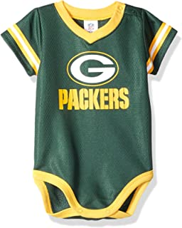 624f701a5 NFL Green Bay Packers Unisex-Baby Dazzle Bodysuit, Green, 0-3 Months