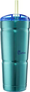 bubba Envy S Vacuum-Insulated Stainless Steel Tumbler with Straw, 24 oz., Island Teal