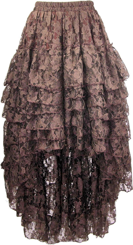Burleska Women's Amelia Steampunk Skirt