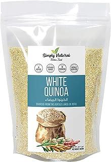 Simply Natural White Quinoa, Naturally Gluten-Free, Good Fiber Source 400g