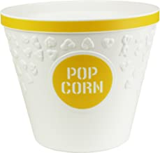 Hutzler Popcorn Bucket, Yellow