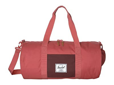 Herschel Supply Co. Sutton Mid-Volume (Mineral Red/Plum) Duffel Bags