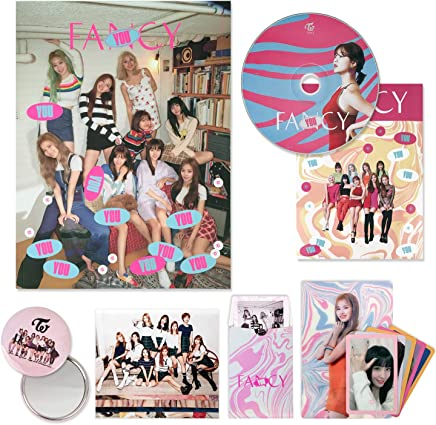 TWICE 7th Mini Album - FANCY YOU [ C ver. ] CD + Photobook + Lenticular Card + Photocards + Sticker + OFFICIAL PHOTOCARD SET + OFFICIAL POSTER + FREE GIFT