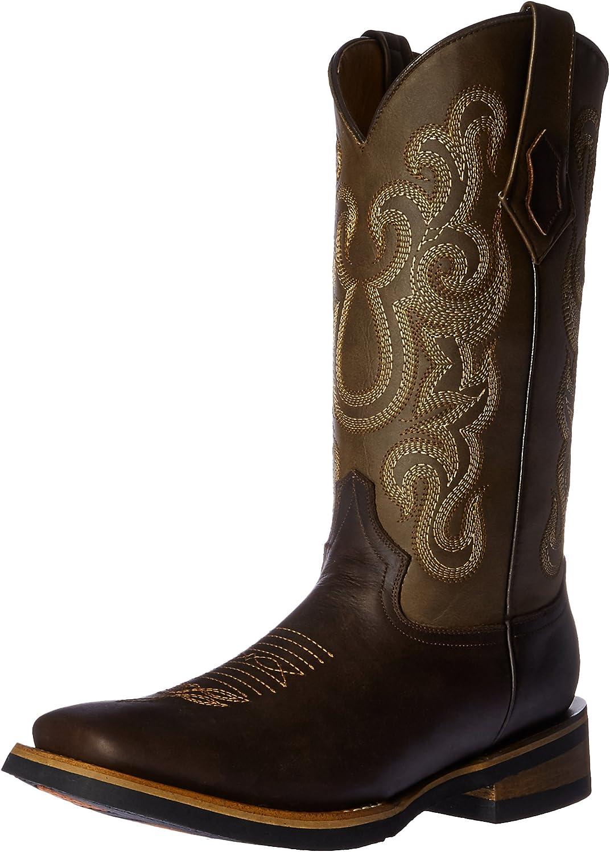 Ferrini Men's Men's Maverick Chocolate Square Toe Western Boots