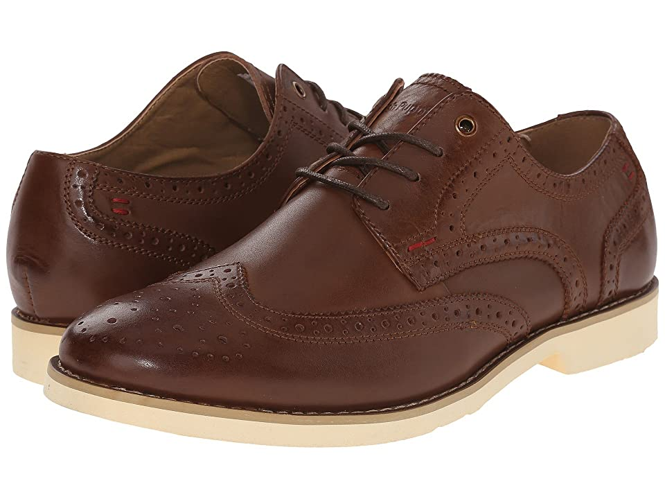 Hush Puppies Fowler EZ Dress (Cognac Leather) Men
