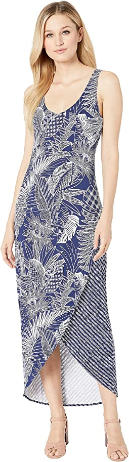 5cc12182d9 Tommy Bahama. Cabana Colores Maxi Dress.  185.00. Island Navy