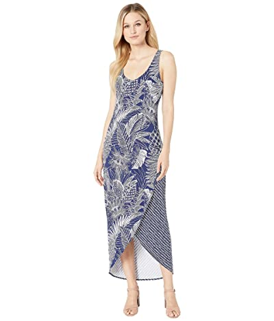 Tommy Bahama Lava Cove Mix Print Maxi (Island Navy) Women