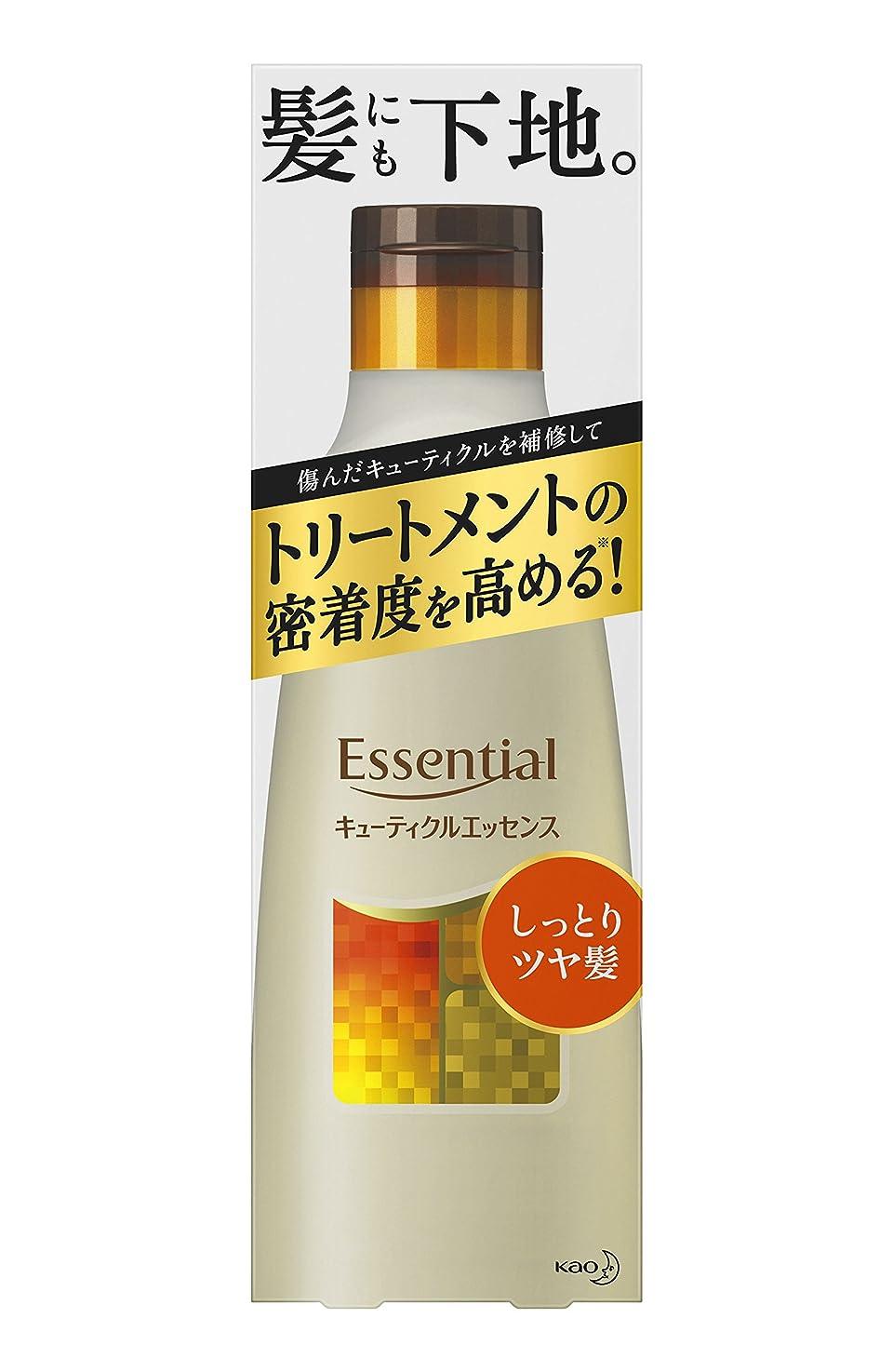 光沢放射性冷酷なエッセンシャル しっとりツヤ髪 キューティクルエッセンス 250g (インバス用)