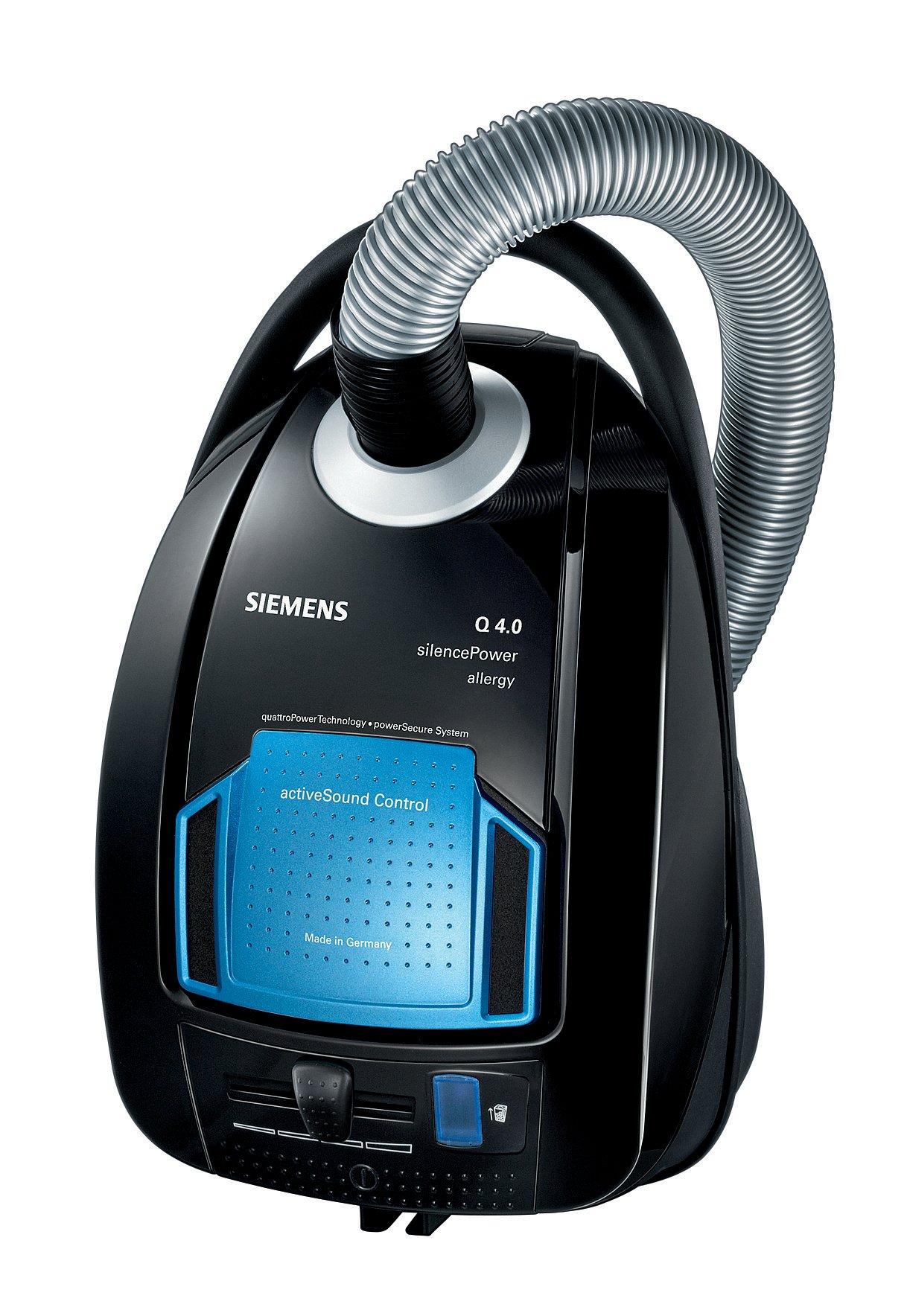 Siemens VSQ4G332 aspirador, 650 W, 5 litros, 69 Decibelios, Negro ...