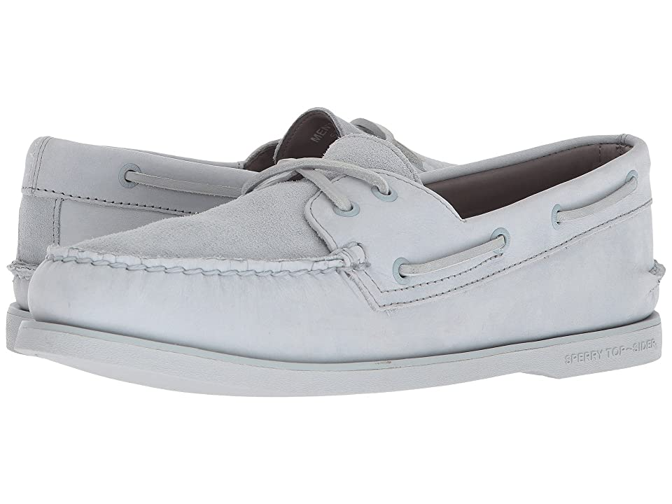 Sperry Gold A/O 2-Eye Pastel (Pearl Blue) Men