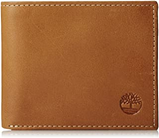 6ab3d5fbc615 Timberland Men s Leather Wallet with Attached Flip Pocket
