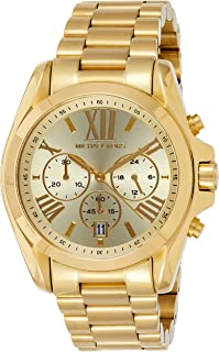 Michael Kors Goldtone Bradshaw Chronograph Watch