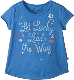 Lucky Brand Kids - Amaya Graphic Tee (Toddler)