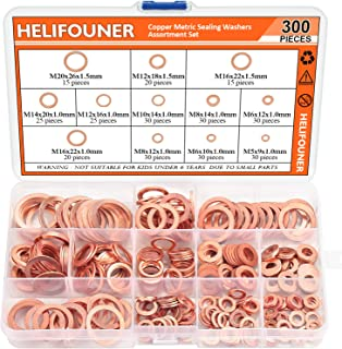copper sealing washer kit