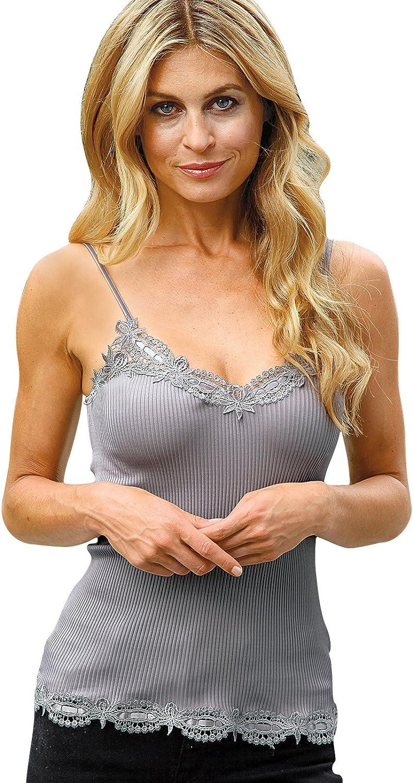 specialty shop Schweitzer Linen Avante Camisole Medium quality assurance Gray
