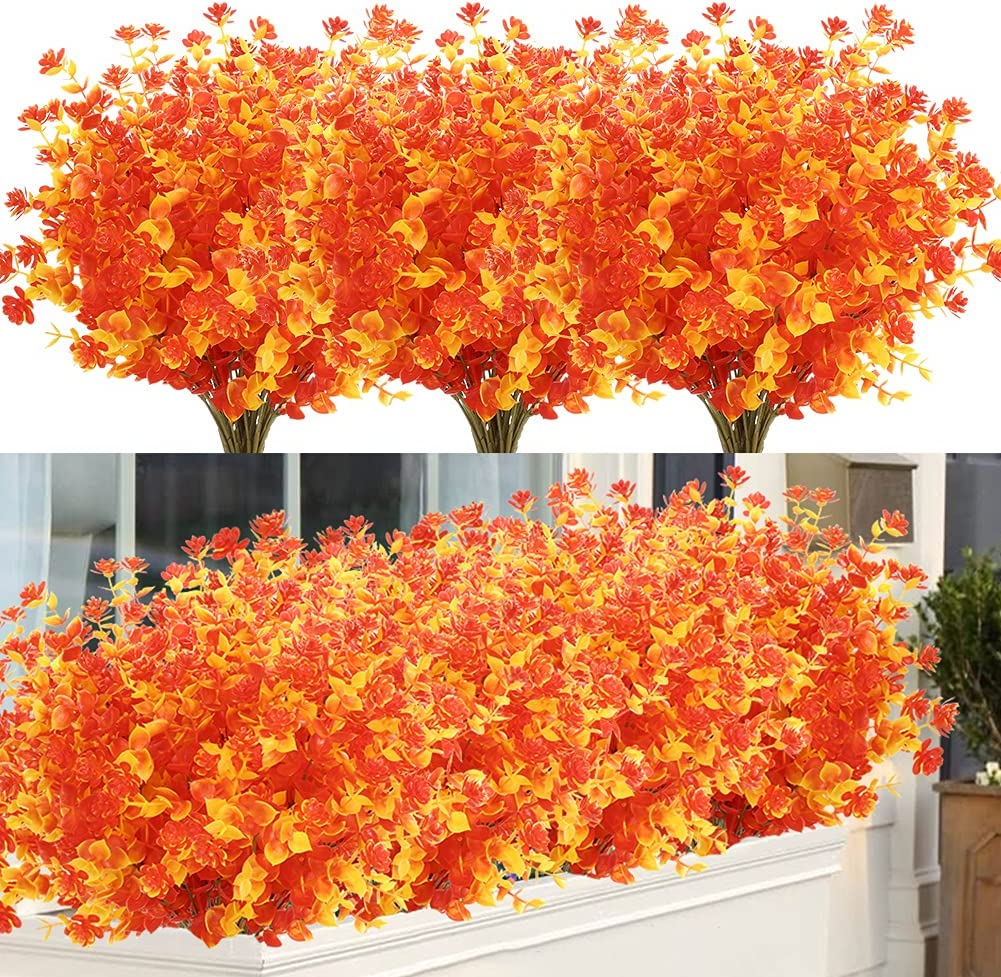 Limited price ArtBloom 24 Bundles Artificial Fall Fade online shopping Faux No Autumn Flowers
