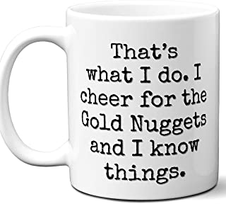 Gold Nuggets Gifts For Men Women. Cool Unique Funny Gift Idea Gold Nuggets Coffee Mug For Fans Sports Lovers. Football Hockey Birthday Father's Day Christmas.