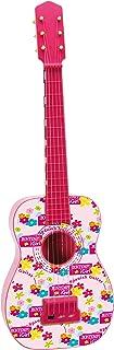 Bontempi- Guitarra española con Cuerdas de Metal, Color Rosa, 71.5 cm (Spanish Business Option Tradding GS 7171