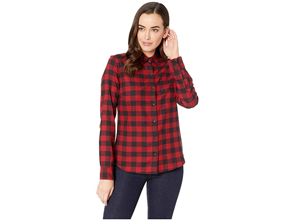 Pendleton - Pendleton Audrey Fitted Flannel Shirt , Red