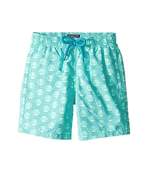Vilebrequin Kids Ancre De Chine Swim Trunks (Toddler/Little Kids/Big Kids)