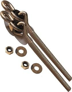 Playkids Swing Set Hanger Hooks Galvanized 3/8