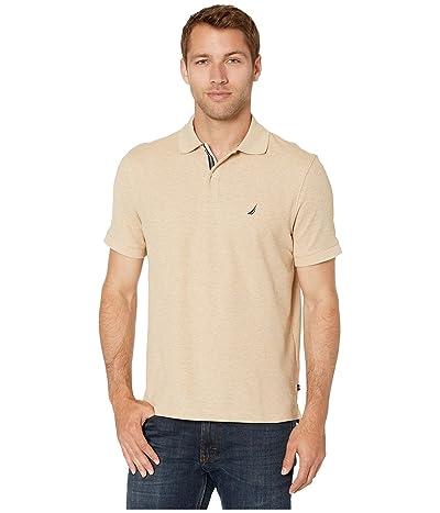 Nautica Solid FCA Deck Shirt (Coastal Camel Heather) Men