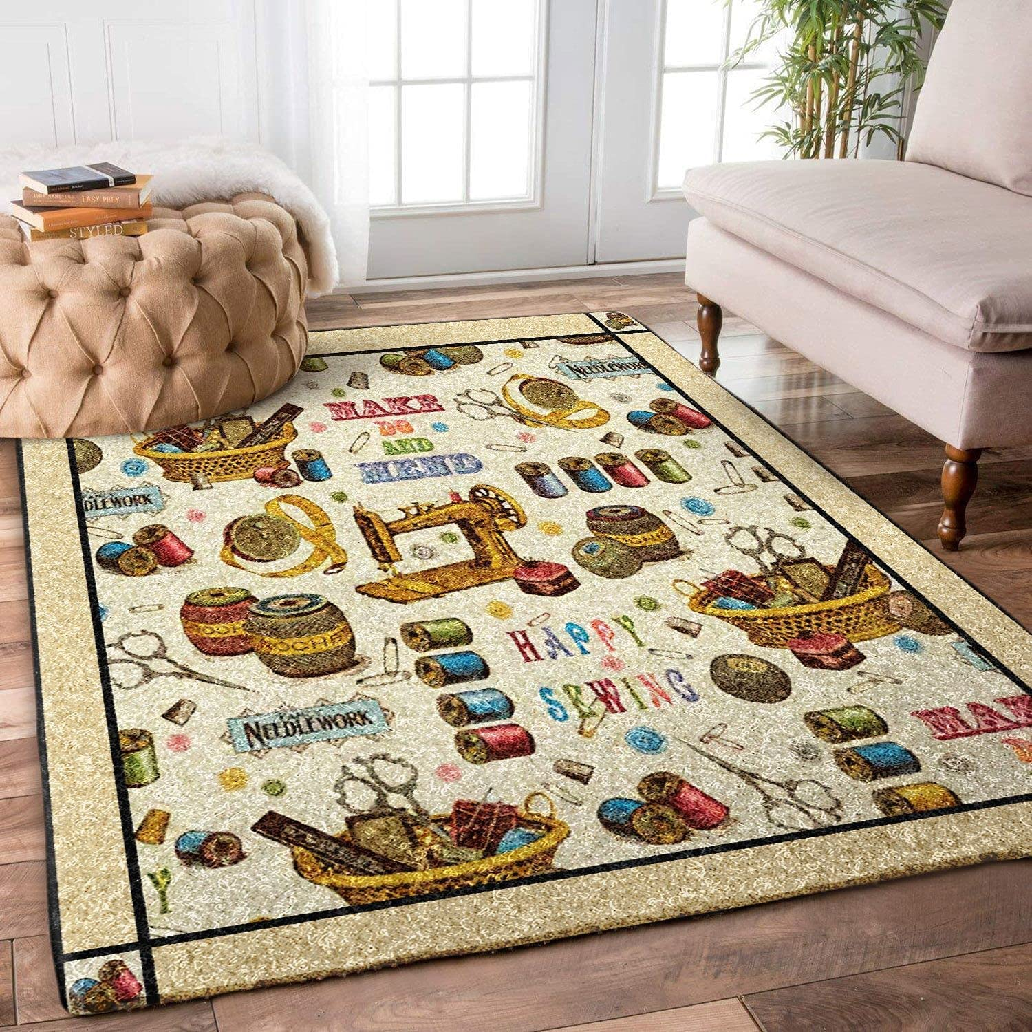 Home Decor Area Rugs Sewing Floor Living Nashville-Davidson Mall Carpet Max 50% OFF Bedroom Room for