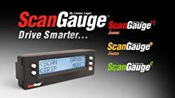 ScanGauge 2 II Ultra Compact 3-in-1 Automotive Computer with Customizable