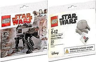 Lego Star Wars First Order Heavy Assault Walker 30497 Last Jedi & Poe's X- Wing Fighter Starship set Polybag edition Building Set