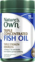 Nature's Own Triple Concentrated Fish Oil - 90 Capsules