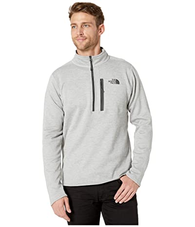 The North Face Canyonlands 1/2 Zip (TNF Light Grey Heather) Men