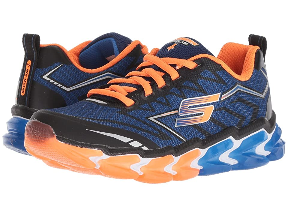 SKECHERS KIDS Skech Air 4 97725L (Little Kid/Big Kid) (Black/Blue/Orange) Boy