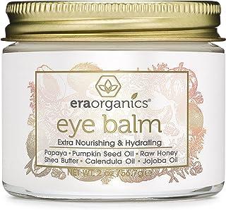Era Organics Rejuvenating Eye Cream (2oz. ) Extra Nourishing & Moisturizing USDA Organic Anti Aging Eye Treatment for Dark...