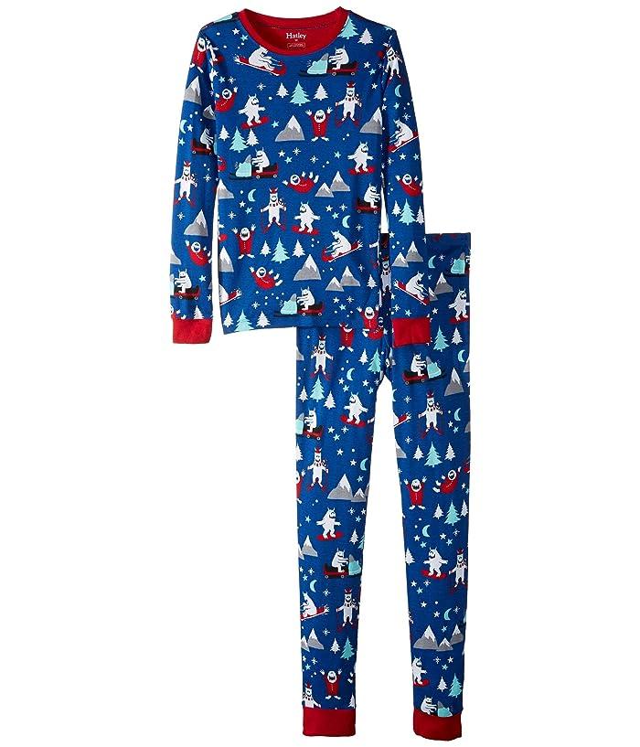 5b2c54f5263437 Hatley Kids Mountain Monsters Organic Cotton Pajama Set (Toddler/Little  Kids/Big Kids)