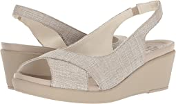 Crocs Leigh Ann Shimmer Slingback Wedge